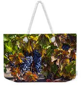 Grapes Of The Napa Valley Weekender Tote Bag