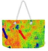 Graphene, Interference Patterns, Stm Weekender Tote Bag