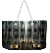 Graphic Art Nyc 5th Avenue Traffic V Weekender Tote Bag