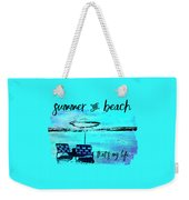 Graphic Art Summer And Beach Weekender Tote Bag