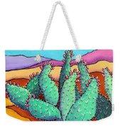 Graphic Cactus Weekender Tote Bag