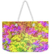 Graphic Rainbow Colorful Garden Weekender Tote Bag