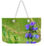 Grass And Flower  Weekender Tote Bag