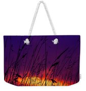 Grass At Dusk Weekender Tote Bag