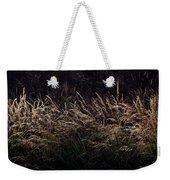 Grass At Sunset Weekender Tote Bag