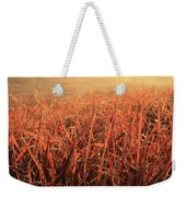 Grass Dyed In The Morning Glow Weekender Tote Bag