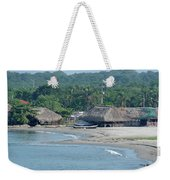 Grass Huts Colombia Weekender Tote Bag