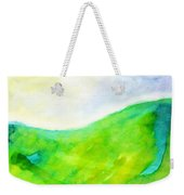 Grass In The Nature Weekender Tote Bag