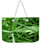 Grass Plus Water Weekender Tote Bag