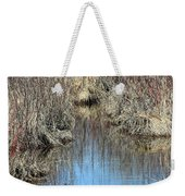 Grass Reflections Weekender Tote Bag