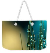 Grass Seed With Blue Weekender Tote Bag