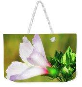 Grasshopper And Flower Weekender Tote Bag