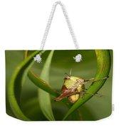 Grasshopper Twist Weekender Tote Bag