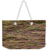 Grassy Abstract Weekender Tote Bag