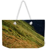 Grassy Before The Top Of The Rocky Hill Weekender Tote Bag
