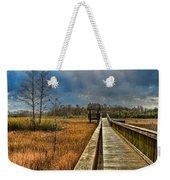 Grassy Glades Weekender Tote Bag by Debra and Dave Vanderlaan