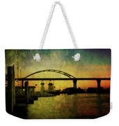 Grassy Island Lighthouses Weekender Tote Bag