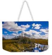Grassy Waters 3 Weekender Tote Bag