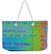 Grateful Dead - Ticket Stub Weekender Tote Bag
