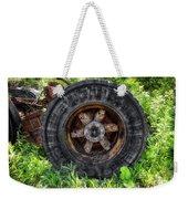 Gravel Pit Goodyear Truck Tire Weekender Tote Bag