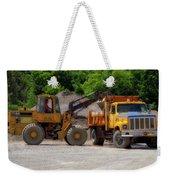 Gravel Pit Loader And Dump Truck 01 Weekender Tote Bag