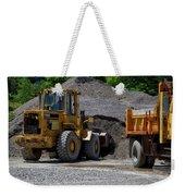 Gravel Pit Loader And Dump Truck 04 Weekender Tote Bag
