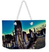Gravesite Weekender Tote Bag
