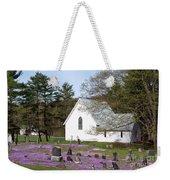 Graveyard Phlox Country Church Weekender Tote Bag