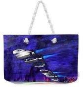 Gravitational Forces Weekender Tote Bag