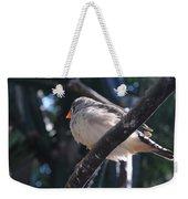 Gray Crowned Rosy Finch   Weekender Tote Bag