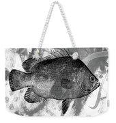 Gray Fish Weekender Tote Bag