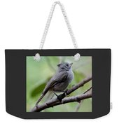 Gray Grey Bird 052814aa Weekender Tote Bag