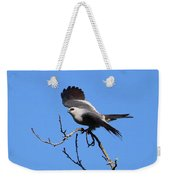 Gray Hawk Retreat Weekender Tote Bag