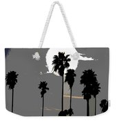 Gray Palms Weekender Tote Bag