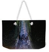 Gray Rainbow Weekender Tote Bag
