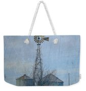 Gray Windmill 2 Weekender Tote Bag