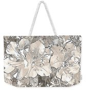 Grayscale Bevy Of Beauties With Sepia Tones Weekender Tote Bag