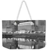 Grayscale Columbus Weekender Tote Bag