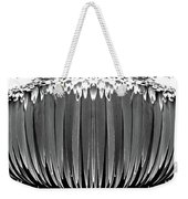 Grayscale Swollen Icicles Weekender Tote Bag