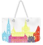 Graz Skyline Pop Weekender Tote Bag