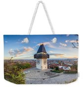 Graz Sunset Panorama Weekender Tote Bag