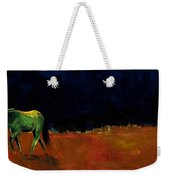 Grazing In The Moonlight Weekender Tote Bag