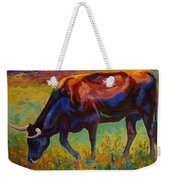 Grazing Texas Longhorn Weekender Tote Bag