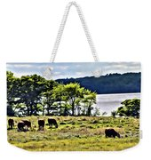 Grazing With A View Weekender Tote Bag