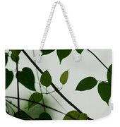 Green Leaves 2 Weekender Tote Bag