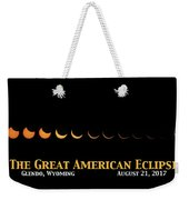 Great American Eclipse 2 Weekender Tote Bag