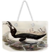 Great Auk Weekender Tote Bag