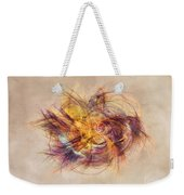 Great Bang Fractal Art Weekender Tote Bag