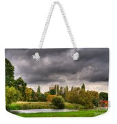 Great Barford River View Weekender Tote Bag