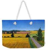 Great Bedwyn Wheat Fields Painting Weekender Tote Bag